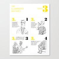 The Illuminated Mixtapes, Series 3 Canvas Print