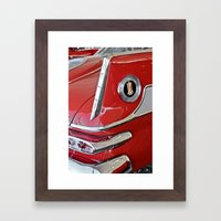 1958 Plymouth Fury Red &… Framed Art Print