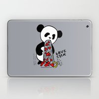LOVESICK PANDA - Grey Laptop & iPad Skin