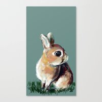 Teeny Canvas Print