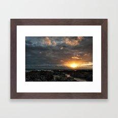 Croyde bay Framed Art Print