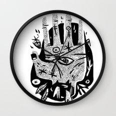 Hand help Wall Clock