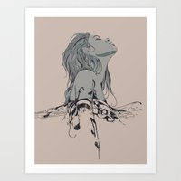 Floating in The Rhythm Art Print