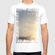 Sky SMALL White Mens Fitted Tee