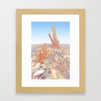 Merci Pour Tout, Monsieu… Framed Art Print