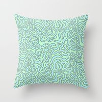 Wacky Pattern Throw Pillow