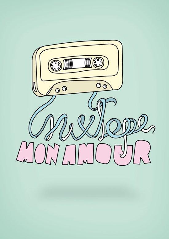 Mixtape mon amour Art Print