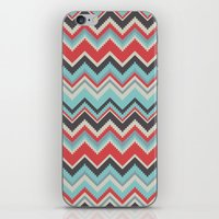 Aztec Chevron Pattern- G… iPhone & iPod Skin