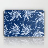 Lace Paisley: Blue Tonal… Laptop & iPad Skin