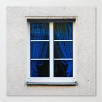 fenster 1 Canvas Print