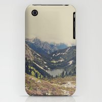 iPhone Cases featuring Mountain Flowers by Kurt Rahn