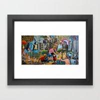 Coral LP Album Artwork Framed Art Print
