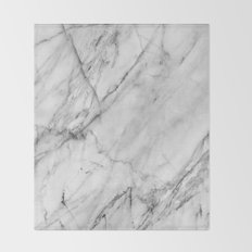 Marble Throw Blanket
