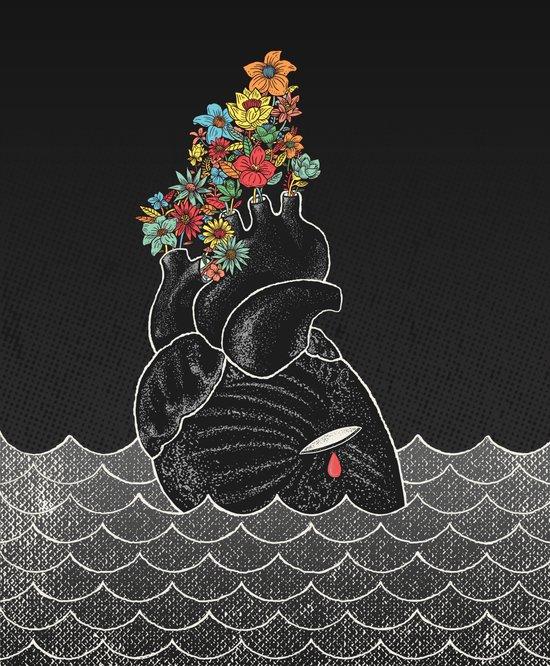 Drowning Canvas Print