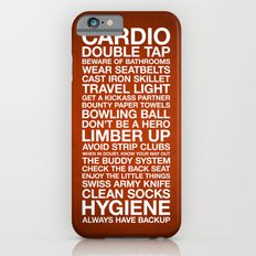 Zombieland — The Rules iPhone 6s Slim Case