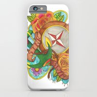 iPhone & iPod Case featuring Sink or Swim. by Kitty Judge