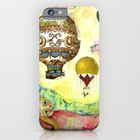 iPhone & iPod Case featuring Flying Ballons by Atelier Susana Tavares