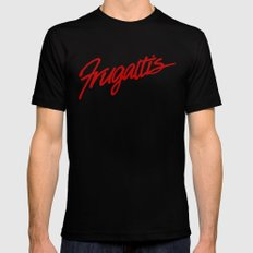 Frugatti's Black Mens Fitted Tee SMALL
