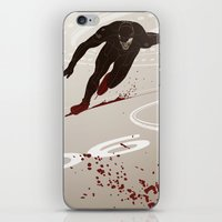 Bloody Skating - The Runner Up iPhone & iPod Skin