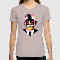 Automata Womens Fitted Tee Cinder SMALL