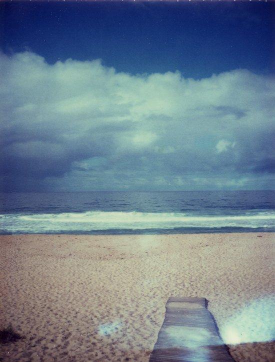 Tura Beach Polaroid Art Print