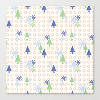 Christmas Design Canvas Print
