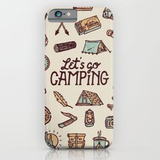 Lets Go Camping iPhone 6s Slim Case
