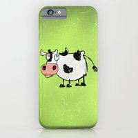 cow iPhone & iPod Cases featuring Cow by Mr and Mrs Quirynen