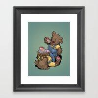 The Bears Framed Art Print