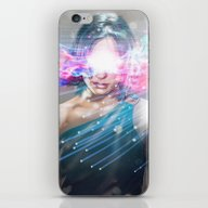 Leaper (time Traveller) iPhone & iPod Skin