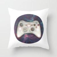Joystick #07 Throw Pillow