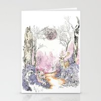 Woodland Magic Stationery Cards