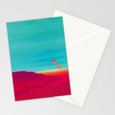 Far Away Stationery Cards