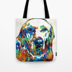 Labrador Retriever Art - Play With Me - By Sharon Cummings Tote Bag