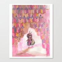 Honeycomb Wanderer Canvas Print