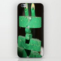 Clip Frog iPhone & iPod Skin