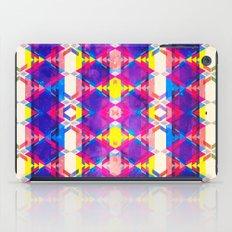 Blue Abstract Diamonate iPad Case