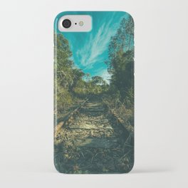 Clear iPhone Case - Abandoned - Mixed Imagery