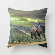 DAY TRIPPER Throw Pillow
