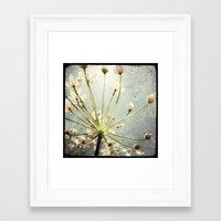 Botanical Explosion Framed Art Print