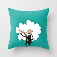 Vincent Vio Lyn Throw Pillow