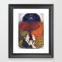 Together or not at all Framed Art Print