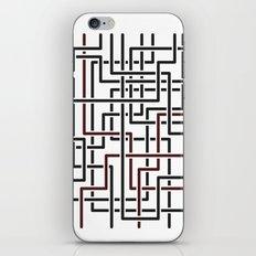 Obliquity 4 iPhone & iPod Skin