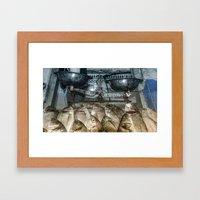 Fish Scales  Framed Art Print