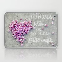 Kisses On The Sidewalk Laptop & iPad Skin
