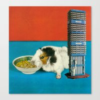 Tower of Cavia Canvas Print