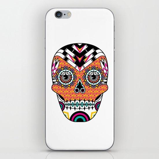 Deco Skull iPhone & iPod Skin