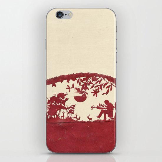 The Deer Maker iPhone & iPod Skin