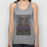 THE GHOST WHO SNACKS Unisex Tank Top
