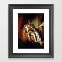 Nick Offerman Is KING!  … Framed Art Print